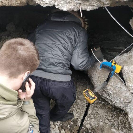 Бункер в центре Новороссийска