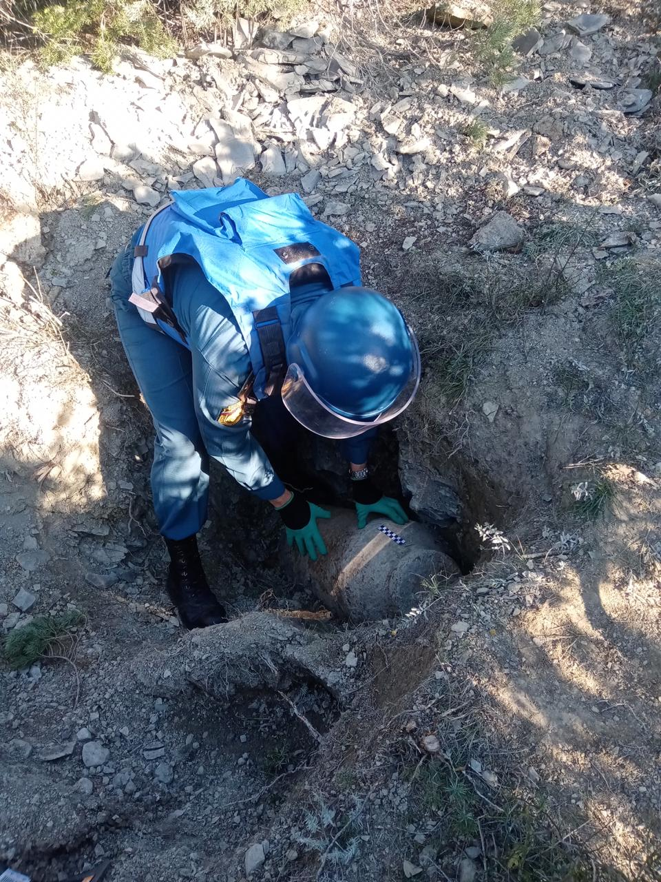 Завершение истории с найденной  авиабомбой в Южной Озереевке